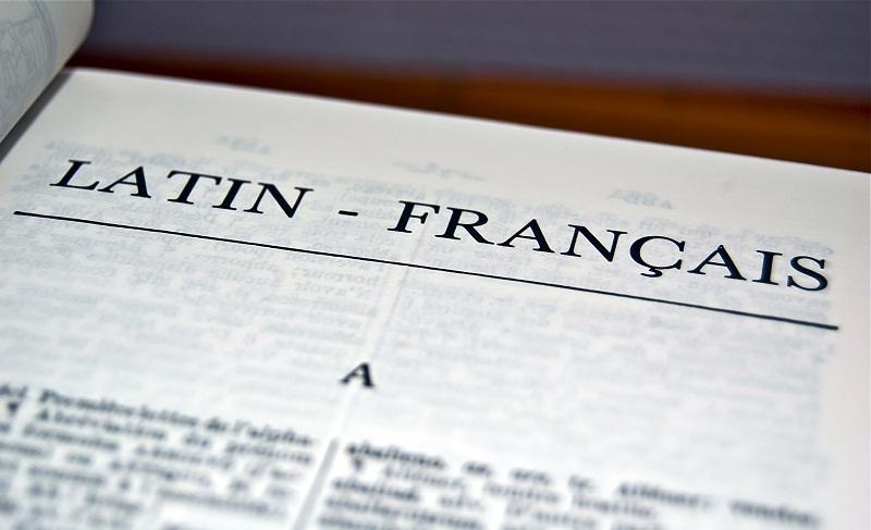 Dictionnaire Latin - Français